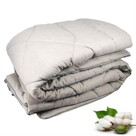 Ватное одеяло ГОСТ Премиум ЛЁН 1.5 спальное 140х205 см - фото 6549