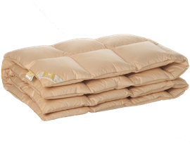Одеяло пуховое Люкс Belashoff  2-х спальное 172х205
