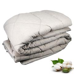 Ватное одеяло ГОСТ Премиум ЛЁН 1.5 спальное 140х205 см